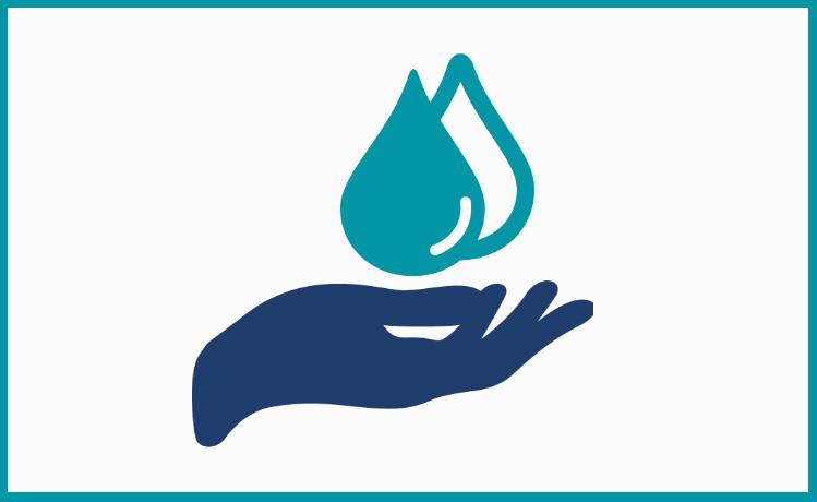 На какое количество потребителей рассчитано водоснабжение в жилом доме