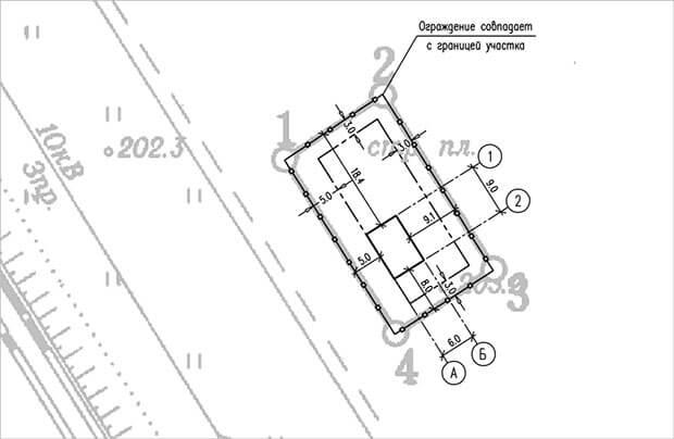 Градостроительный план земельного участка образец